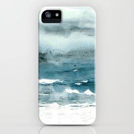 dissolving blues iPhone Case
