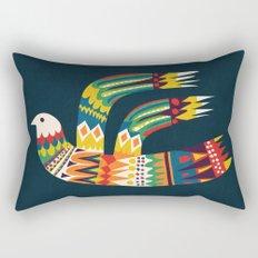 Native Bird Rectangular Pillow