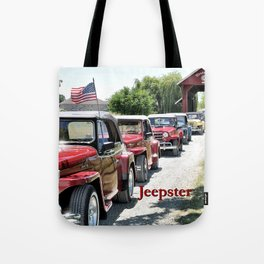 Jeepster Line Up Tote Bag