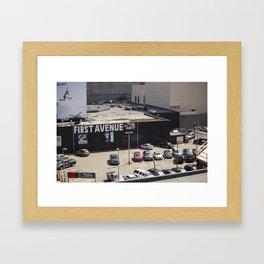 First Avenue Framed Art Print