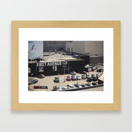 First Avenue Framed Art Print