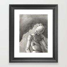 Echo of Sorrow Framed Art Print
