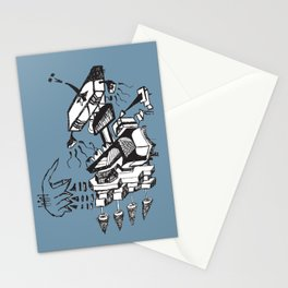 Is this how music sounds better Stationery Cards