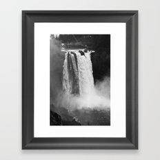 Snoqualmie Falls, WA Framed Art Print