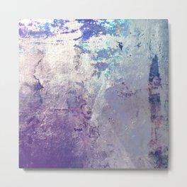Shimmy that Purple Metal Print