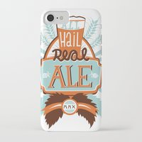 ale giorgini iPhone & iPod Cases featuring All Hail Real Ale by Kerry Hyndman