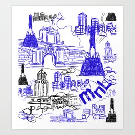 Manila Art Print