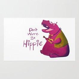 Hippie Hippo Rug