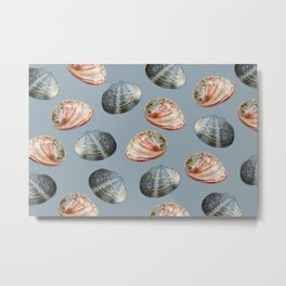 claims grey Background Metal Print