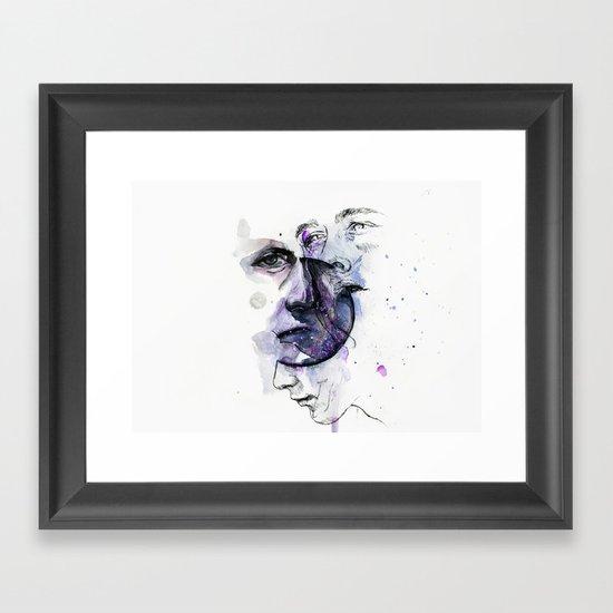 lacking stabilty Framed Art Print