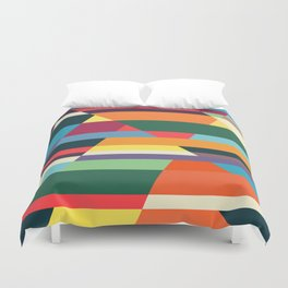 The hills run to infinity Duvet Cover