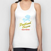 mlp Tank Tops featuring MLP PDX by Kimball Gray