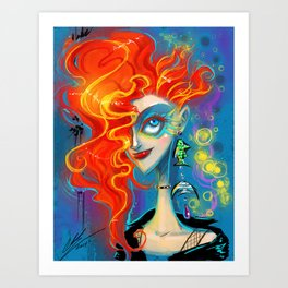 Dreams in Delirium  Art Print