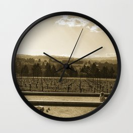 Pétanque Wall Clock