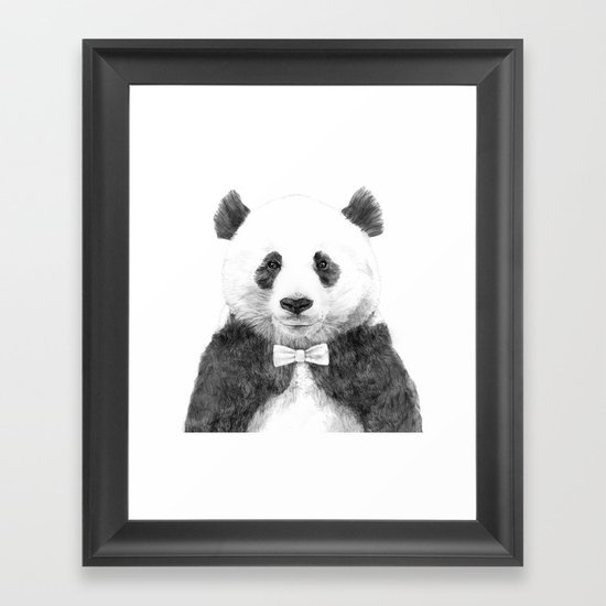 Zhu Framed Art Print