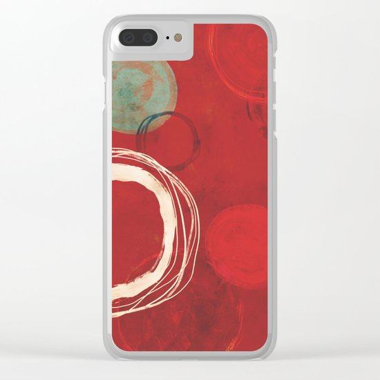 At The Centre Of It All Clear iPhone Case