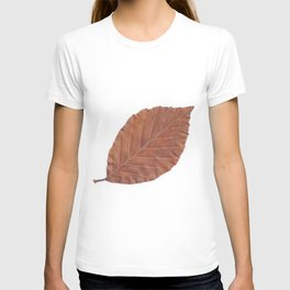 Autumn Leaf Scan  T-shirt