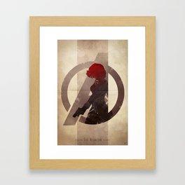 Avengers Assembled: The Assassin Framed Art Print