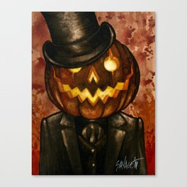 Dapper Jack Canvas Print