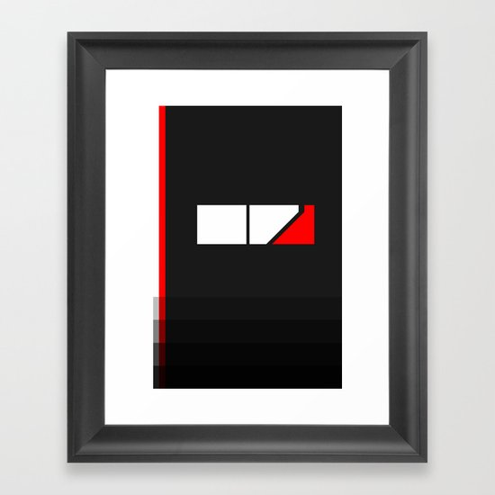 Minimal Effect Framed Art Print