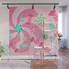 Pastel Sugar Crush Wall Mural
