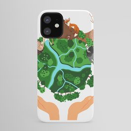 Climate Change Save The Planet iPhone Case