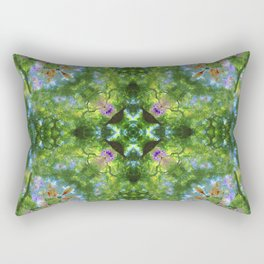 Project 130.2 - Abstract Photomontage Rectangular Pillow