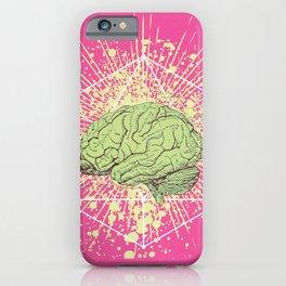BRAIN GLOW iPhone Case