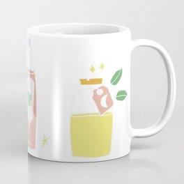 Cute bottles, pastel magic potion Coffee Mug
