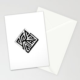 Diamond Design Stationery Cards