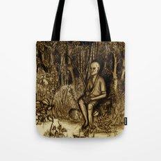 Mud Man Tote Bag