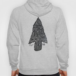 """Flint"" Hand-Drawn by Dark Mountain Arts Hoody"