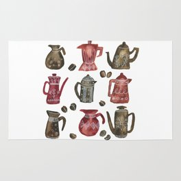 Coffee Pots Rug
