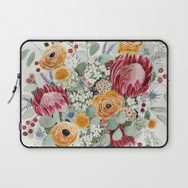 Fall Protea Bouquet Laptop Sleeve