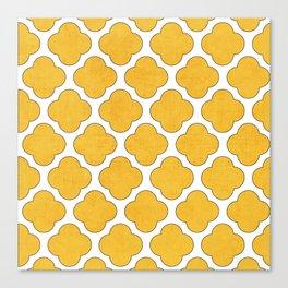 yellow clover Canvas Print