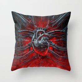 Heart Of The Gamer Throw Pillow