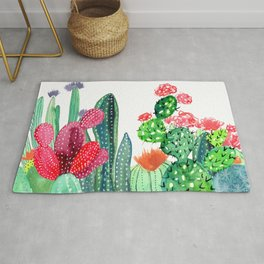 A Prickly Bunch 4 Rug