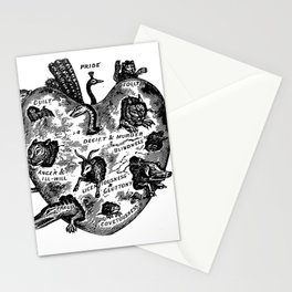 THE UNREGENERATE HEART Stationery Cards