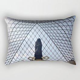 The Pyramid of Paris Rectangular Pillow