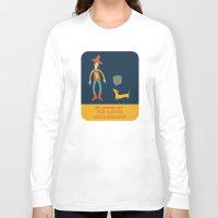 dachshund Long Sleeve T-shirts featuring Dachshund by Ariel Wilson