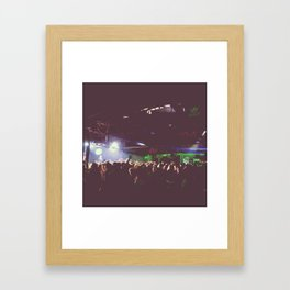 party and yeah Framed Art Print