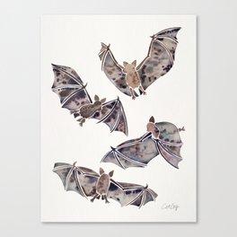 Bat Collection Canvas Print