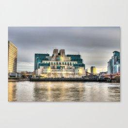 Secret Service Building London Canvas Print