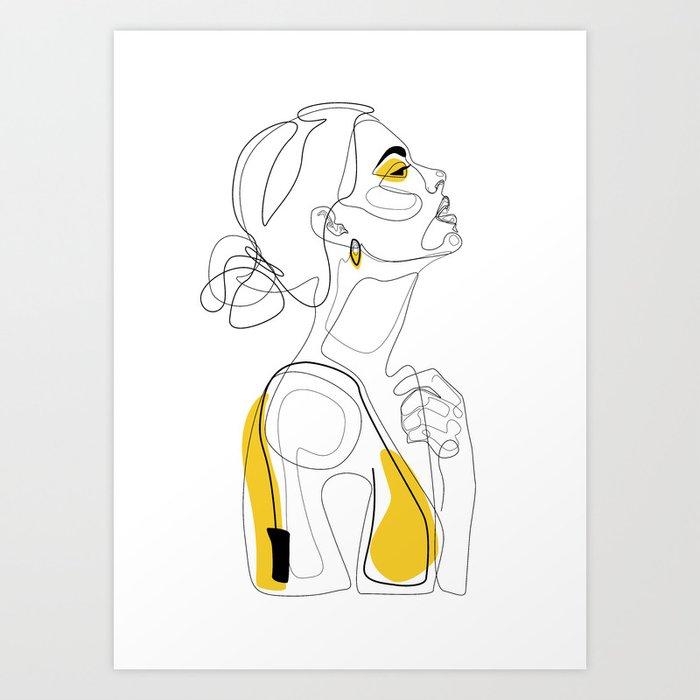 Color Beauty Art Print