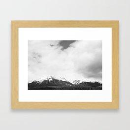 Mountains 01 Framed Art Print