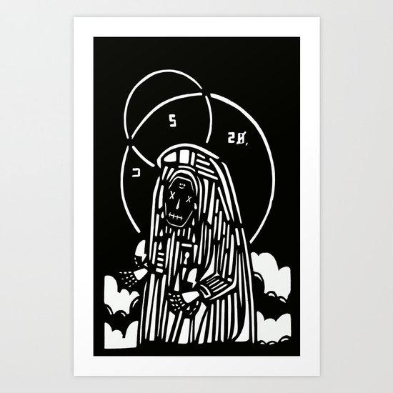 CRY Art Print