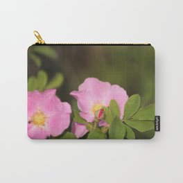 Wild Prairie rose Carry-All Pouch