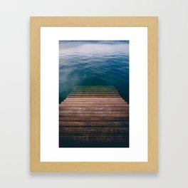 The invite Framed Art Print