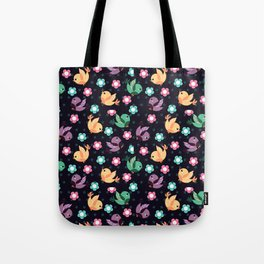 Freely Birds Flying - Fly Away Version 3 - Night Color Tote Bag