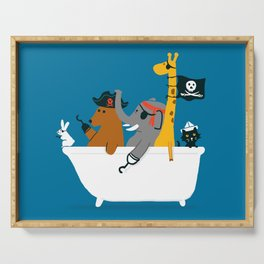 Everybody wants to be the pirate Serving Tray